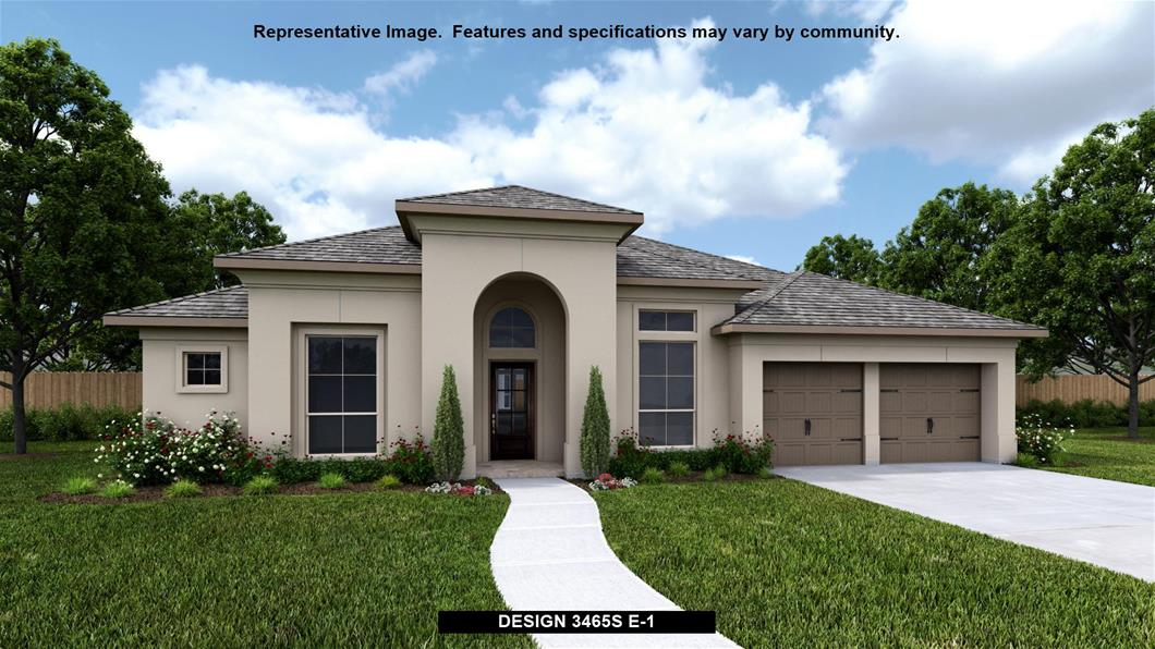New Home Design, 3,465 sq. ft., 4 bed / 3.0 bath, 3-car garage