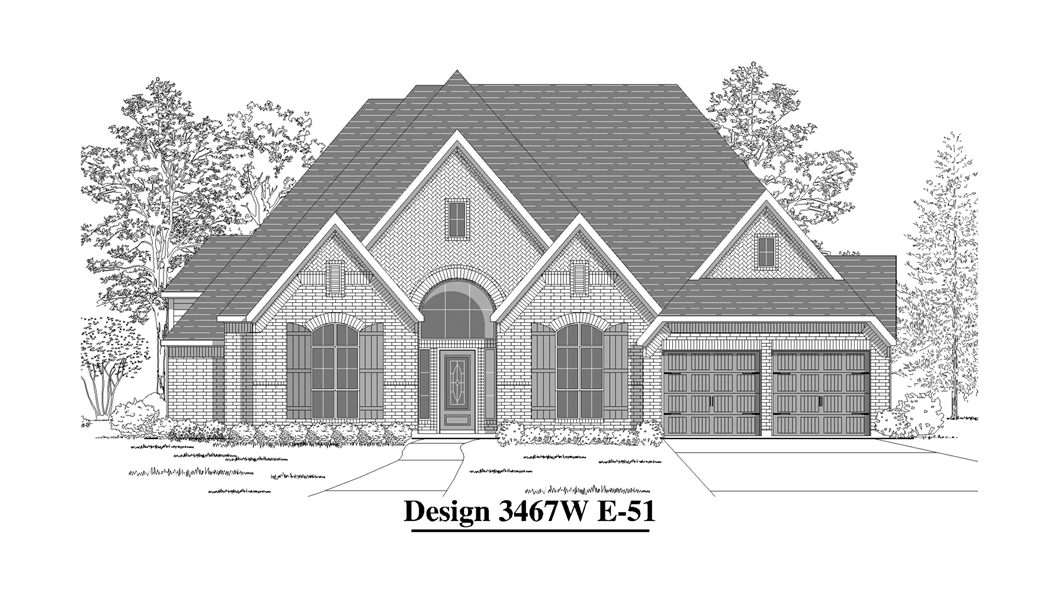 Available to build in San Antonio | Design 3467W | 3,467 Sq. Ft ...
