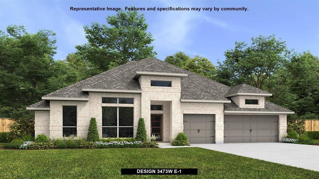 New Home Design, 3,473 sq. ft., 4 bed / 3.5 bath, 3-car garage