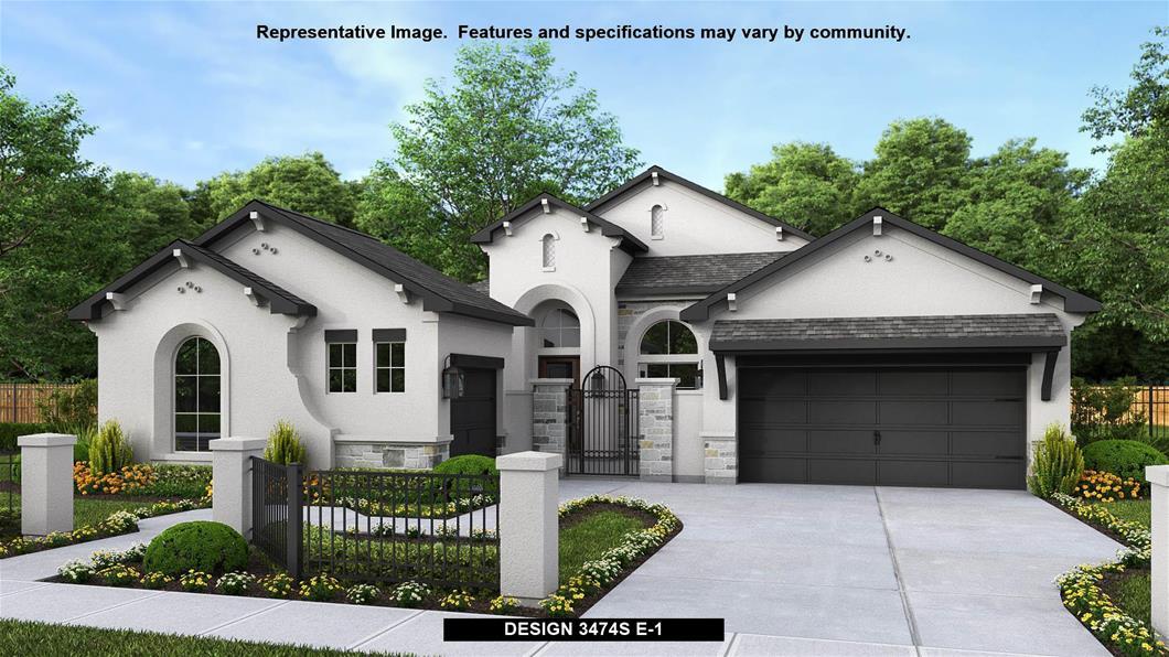 New Home Design, 3,474 sq. ft., 4 bed / 3.5 bath, 3-car garage