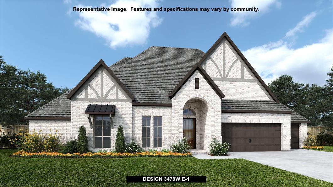 New Home Design, 3,478 sq. ft., 4 bed / 3.5 bath, 3-car garage