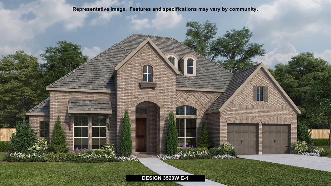 New Home Design, 3,520 sq. ft., 4 bed / 3.5 bath, 3-car garage
