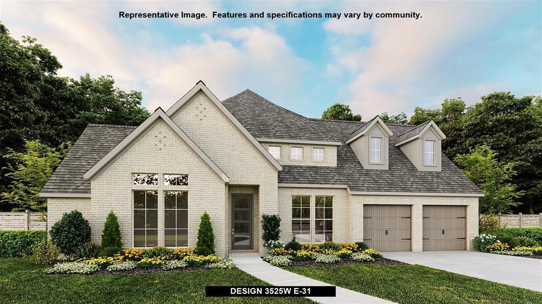 New Home Design, 3,525 sq. ft., 4 bed / 4.5 bath, 2-car garage