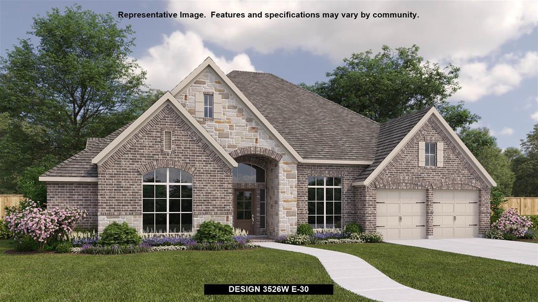New Home Design, 3,526 sq. ft., 4 bed / 3.5 bath, 3-car garage