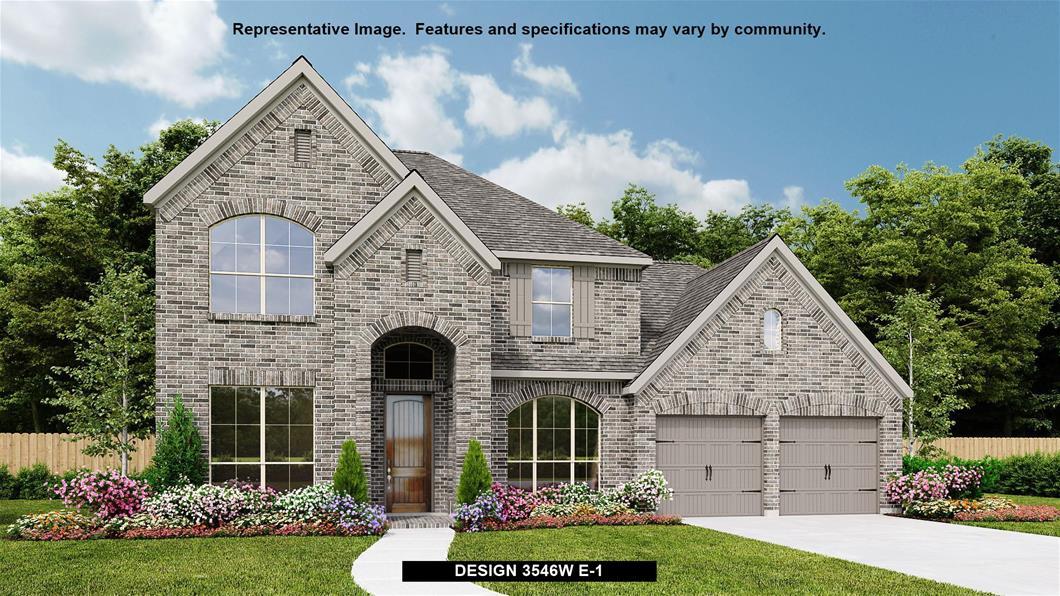 New Home Design, 3,546 sq. ft., 5 bed / 4.0 bath, 3-car garage