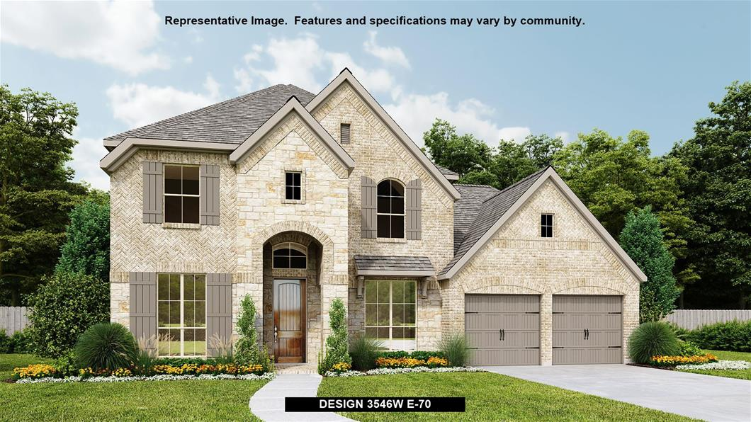 New Home Design, 3,546 sq. ft., 5 bed / 4.0 bath, 3-car garage