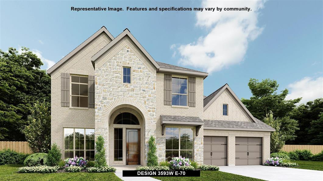 Available To Build In Veranda 65 Design 3593w Perry Homes