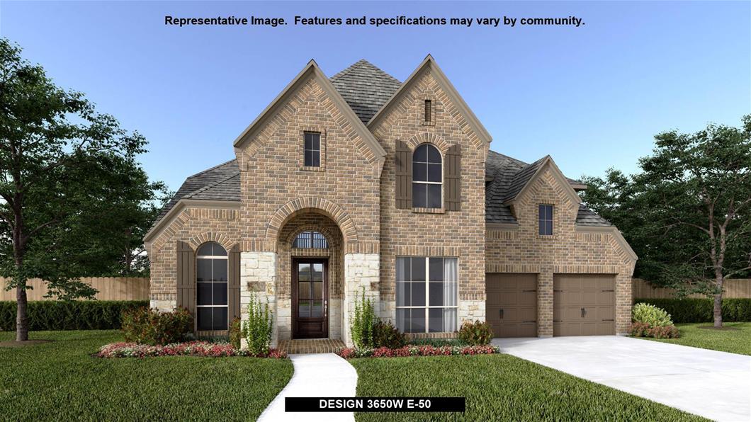New Home Design, 3,650 sq. ft., 4 bed / 4.0 bath, 3-car garage