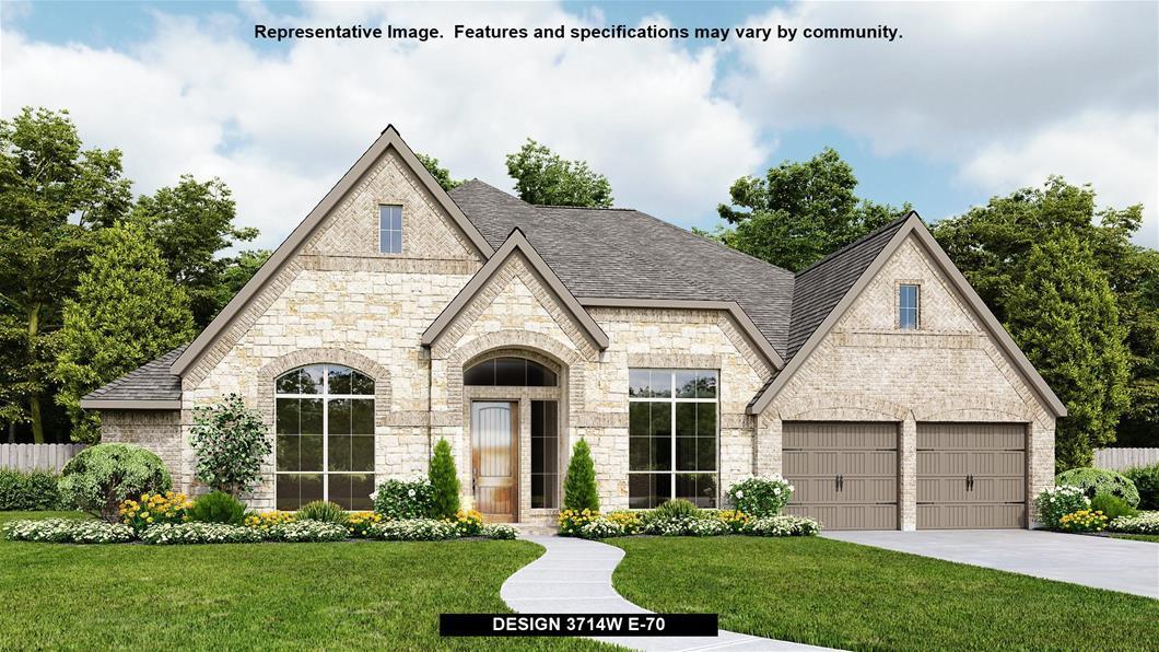 New Home Design, 3,714 sq. ft., 4 bed / 3.5 bath, 3-car garage