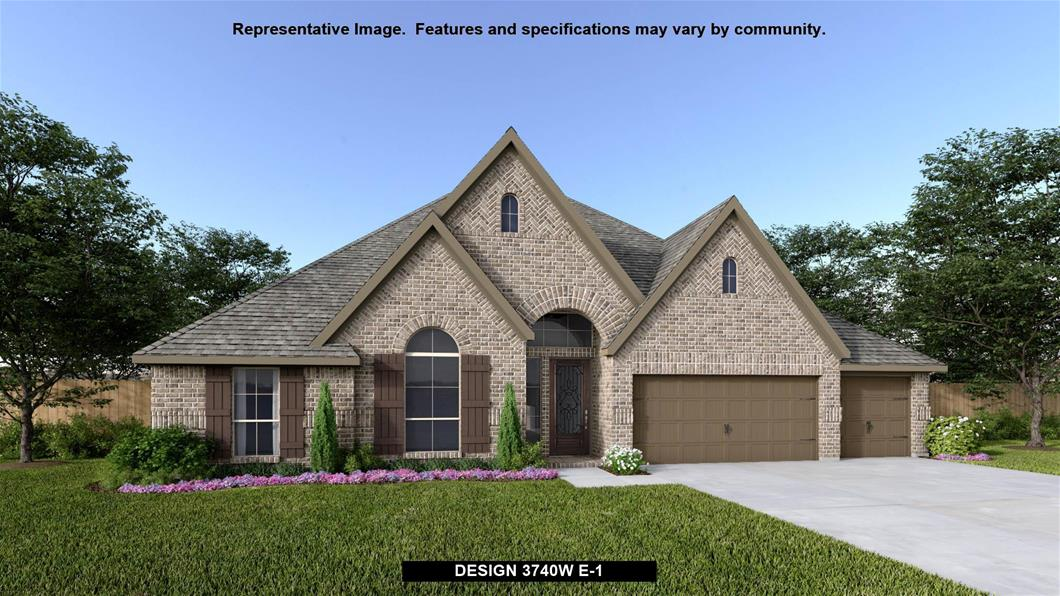 New Home Design, 3,740 sq. ft., 4 bed / 3.5 bath, 3-car garage