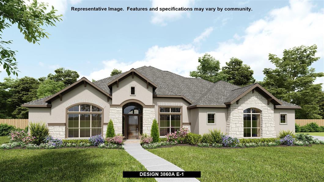 New Home Design, 3,860 sq. ft., 4 bed / 3.5 bath, 4-car garage