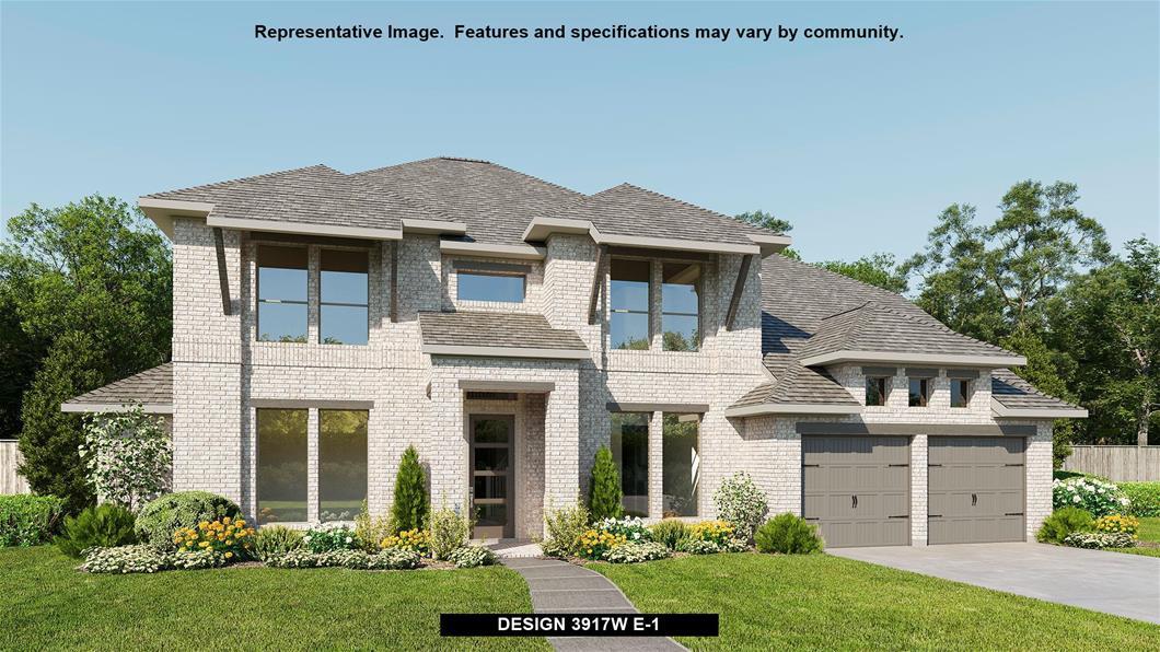 New Home Design, 3,917 sq. ft., 5 bed / 4.0 bath, 3-car garage