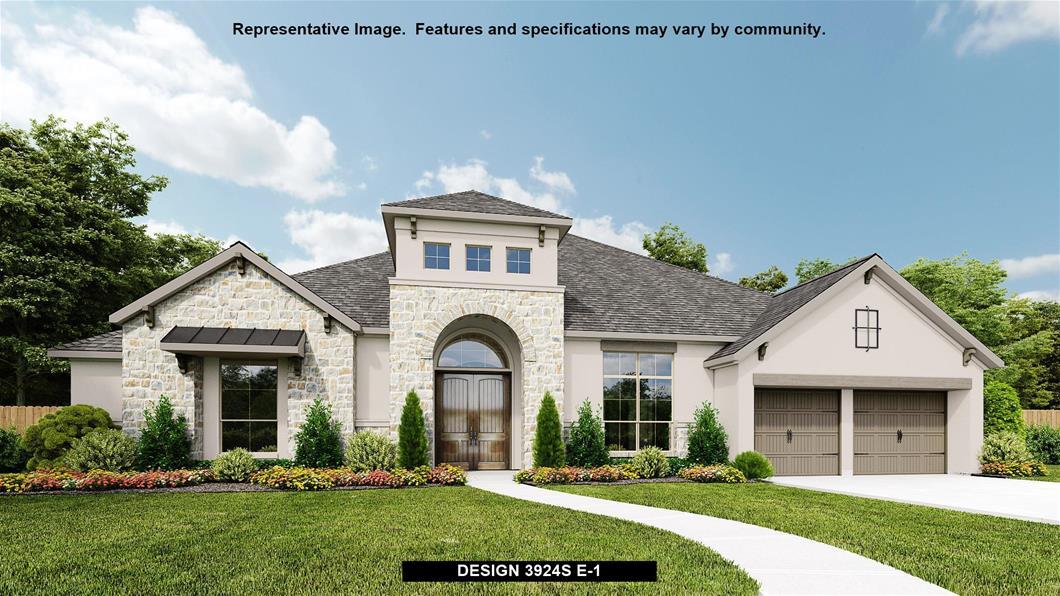 New Home Design, 3,924 sq. ft., 4 bed / 3.5 bath, 4-car garage