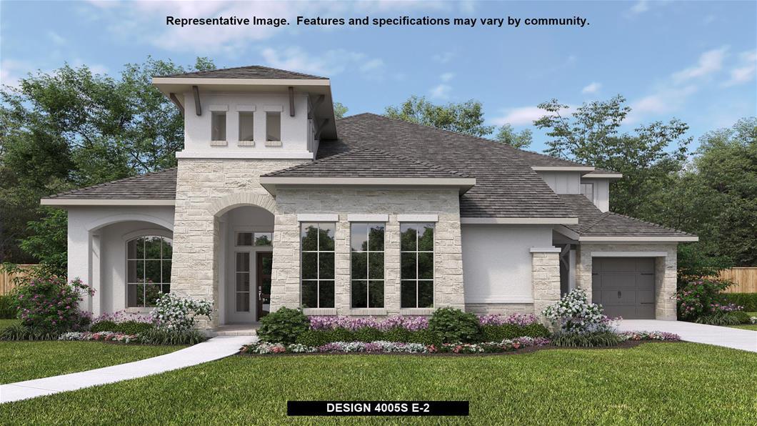 New Home Design, 4,005 sq. ft., 5 bed / 4.5 bath, 3-car garage