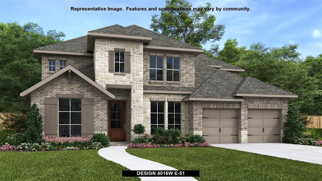 New Home Design, 4,016 sq. ft., 5 bed / 4.5 bath, 3-car garage