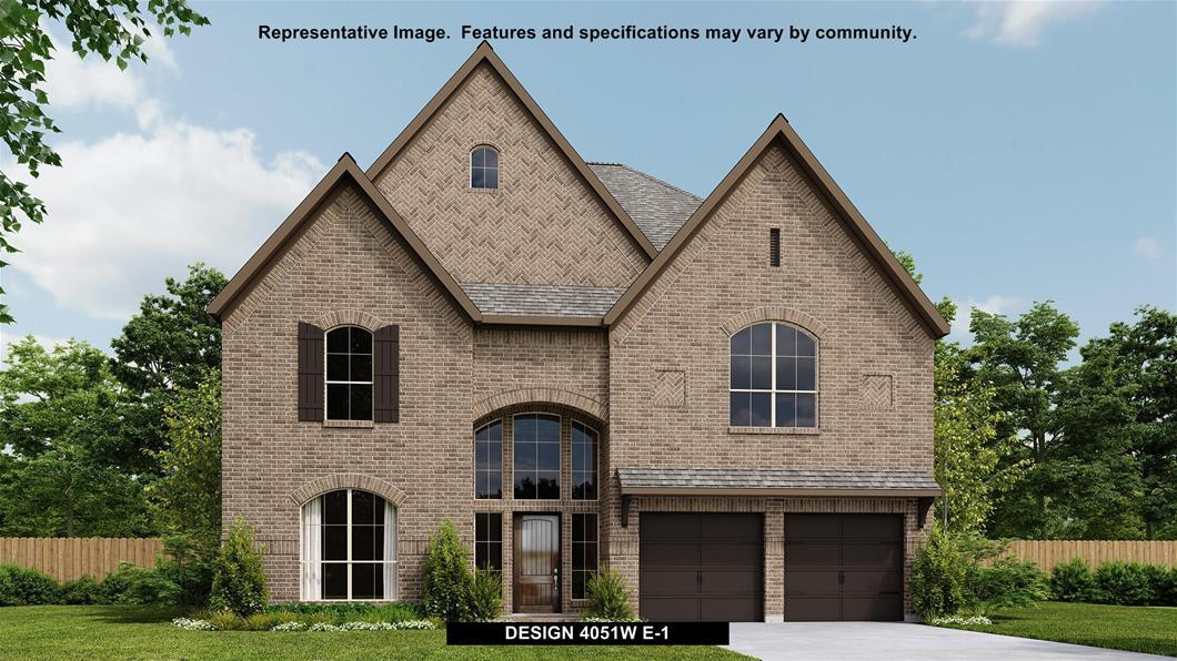 New Home Design, 4,051 sq. ft., 5 bed / 4.5 bath, 3-car garage