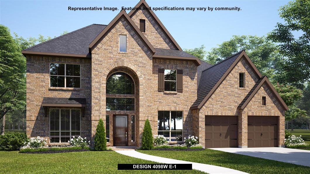 New Home Design, 4,098 sq. ft., 5 bed / 4.5 bath, 3-car garage