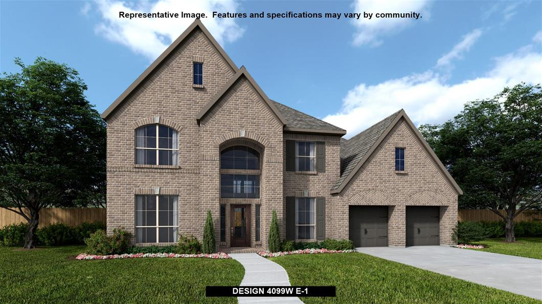 New Home Design, 4,099 sq. ft., 5 bed / 4.5 bath, 3-car garage