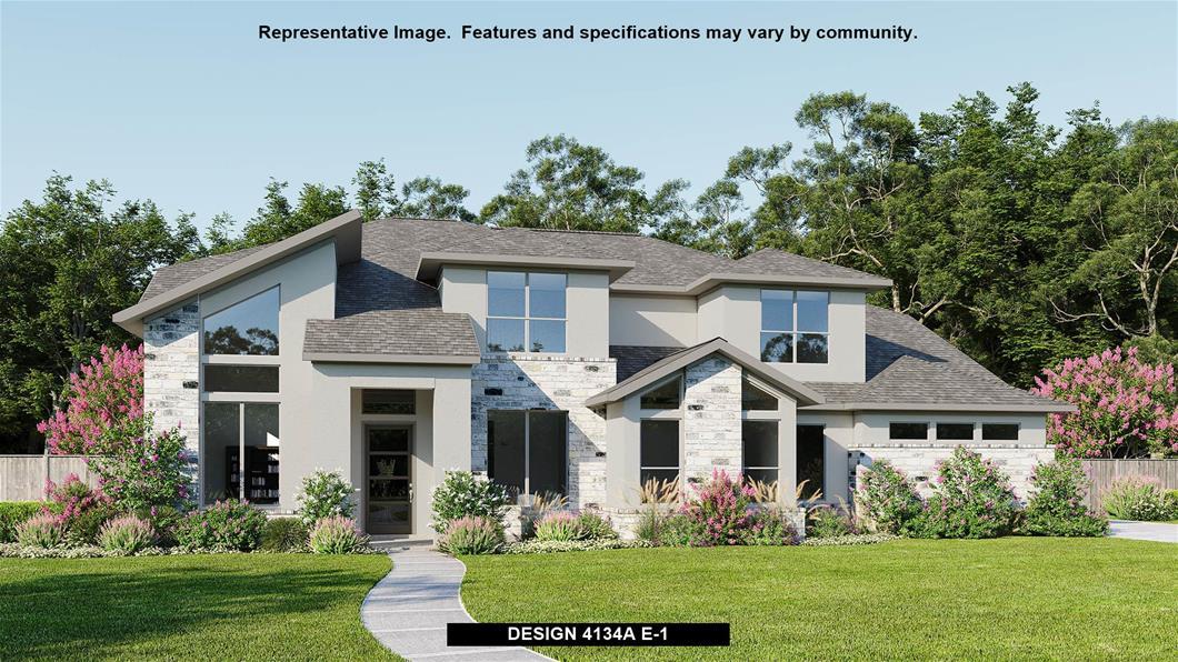 New Home Design, 4,134 sq. ft., 5 bed / 4.5 bath, 3-car garage