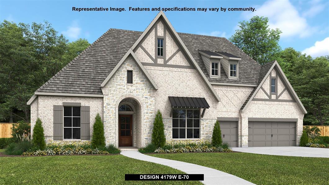 New Home Design, 4,179 sq. ft., 4 bed / 3.5 bath, 3-car garage