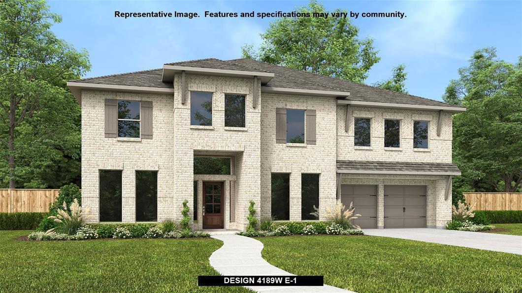 New Home Design, 4,189 sq. ft., 5 bed / 4.5 bath, 3-car garage