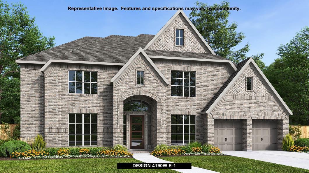 New Home Design, 4,190 sq. ft., 5 bed / 4.5 bath, 3-car garage