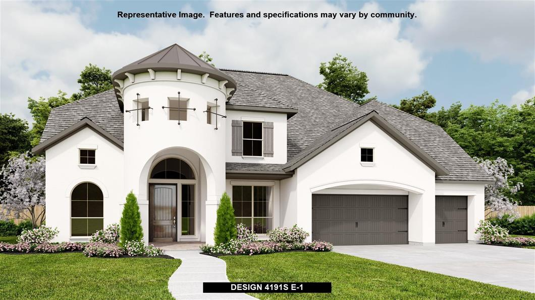 New Home Design, 4,191 sq. ft., 5 bed / 4.5 bath, 3-car garage