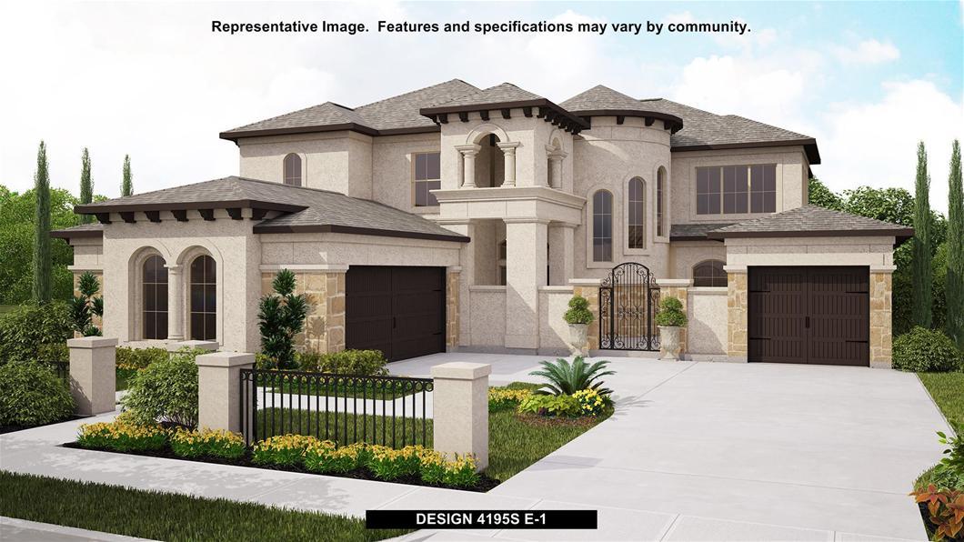 New Home Design, 4,195 sq. ft., 5 bed / 4.5 bath, 3-car garage