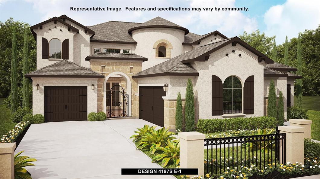 New Home Design, 4,197 sq. ft., 5 bed / 4.5 bath, 3-car garage
