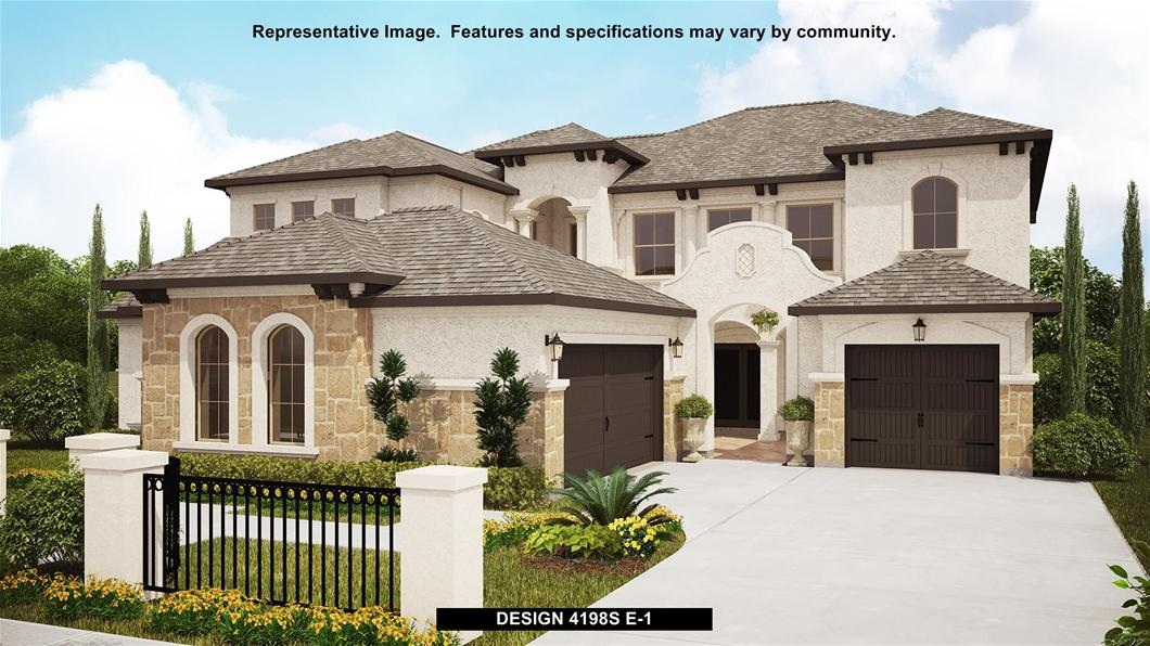 New Home Design, 4,198 sq. ft., 5 bed / 4.5 bath, 3-car garage