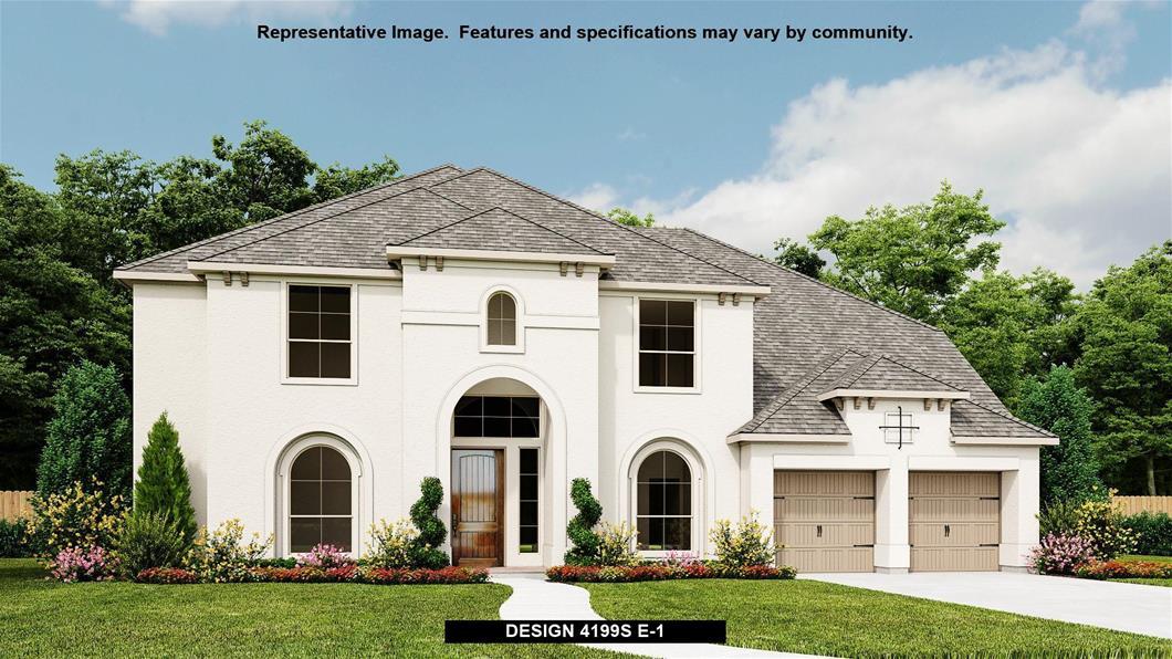 New Home Design, 4,199 sq. ft., 5 bed / 4.5 bath, 3-car garage