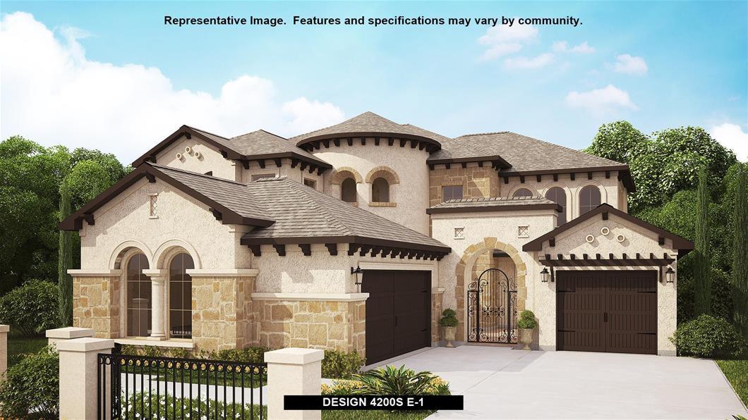 New Home Design, 4,200 sq. ft., 5 bed / 4.5 bath, 3-car garage