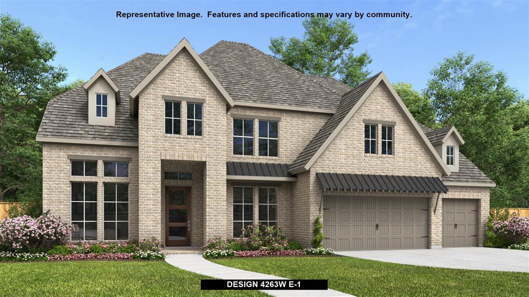 New Home Design, 4,263 sq. ft., 5 bed / 4.5 bath, 3-car garage