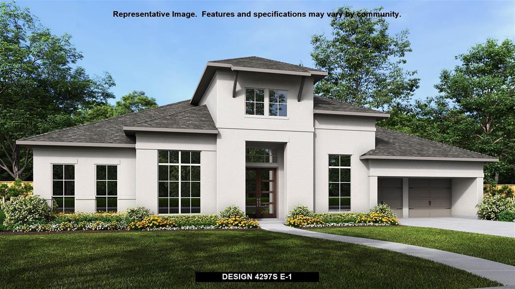 New Home Design, 4,297 sq. ft., 4 bed / 3.5 bath, 4-car garage