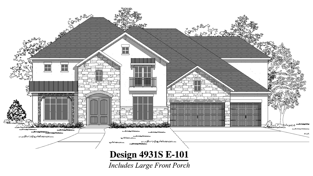 Available to build in New Braunfels | Design 4931S | 4,931 Sq. Ft ...