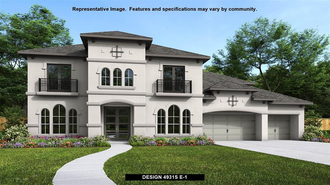 New Home Design, 4,931 sq. ft., 5 bed / 4.5 bath, 4-car garage