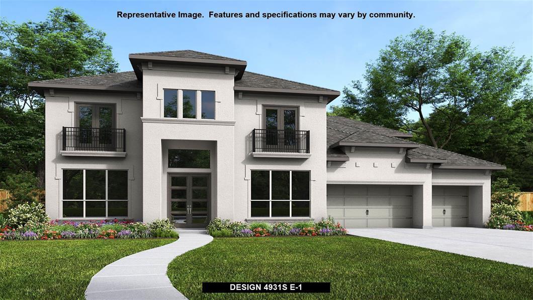 New Home Design, 4,931 sq. ft., 5 bed / 4.5 bath, 4-car garage
