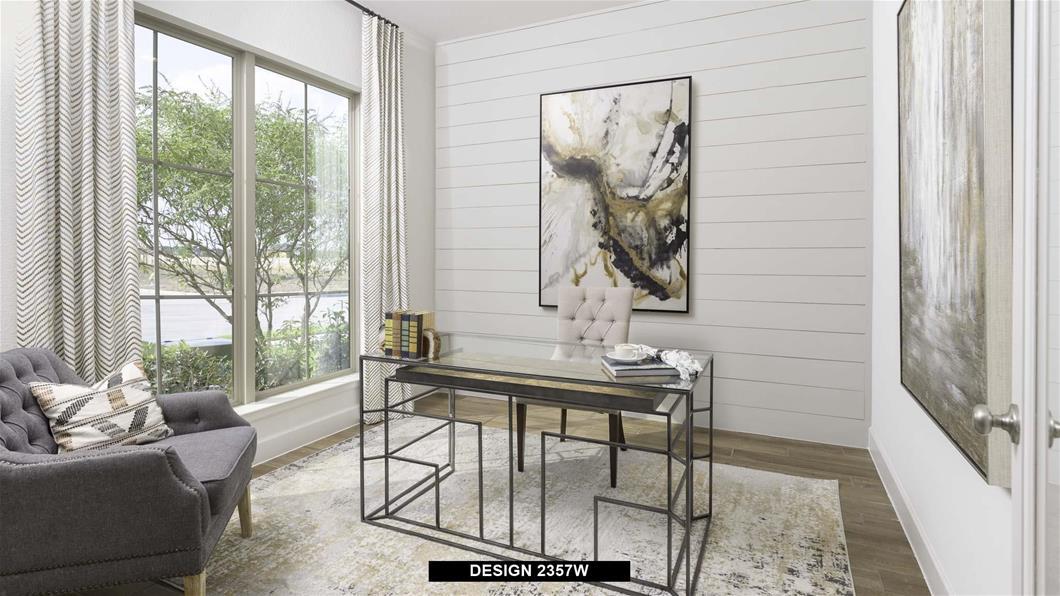 Model Home Design 2357W Interior