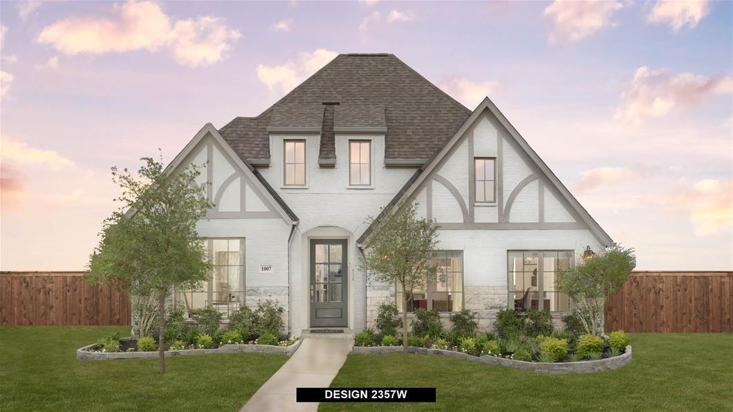 Model Home Design 2357W Exterior