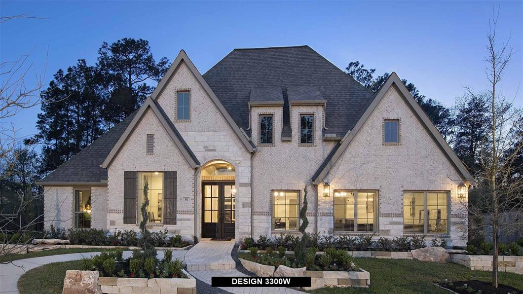 Model Home Design 3300W Exterior