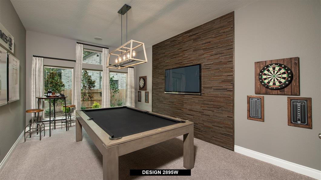 Model Home Design 2895W Interior