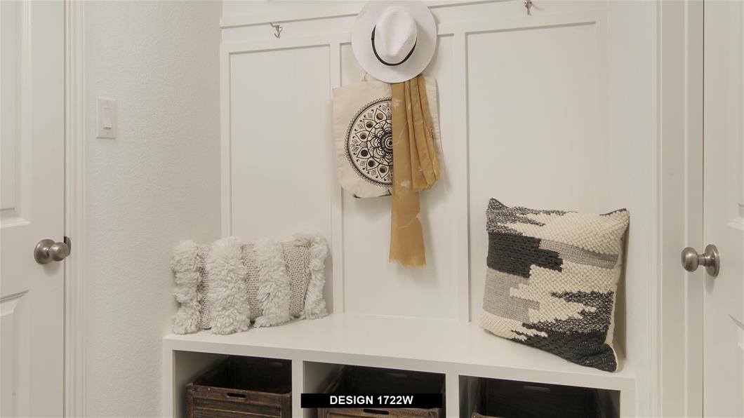 Model Home Design 1722W Interior