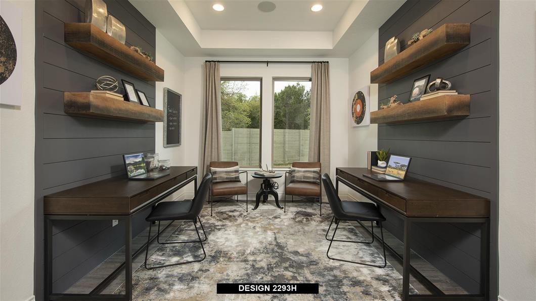 Model Home Design 2293H Interior