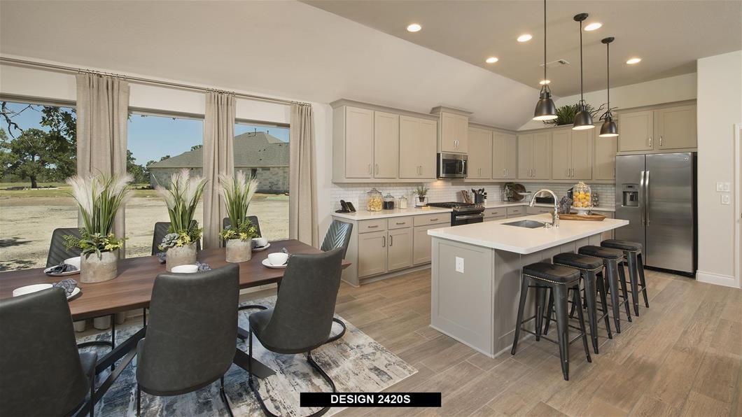 Model Home Design 2420S Interior
