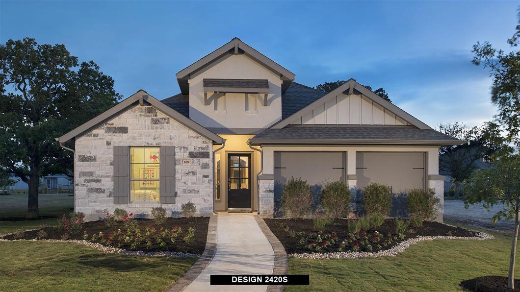 Model Home Design 2420S Exterior
