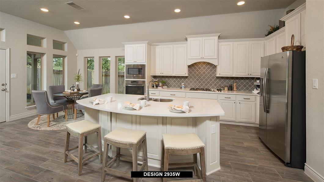 Model Home Design 2935W Interior