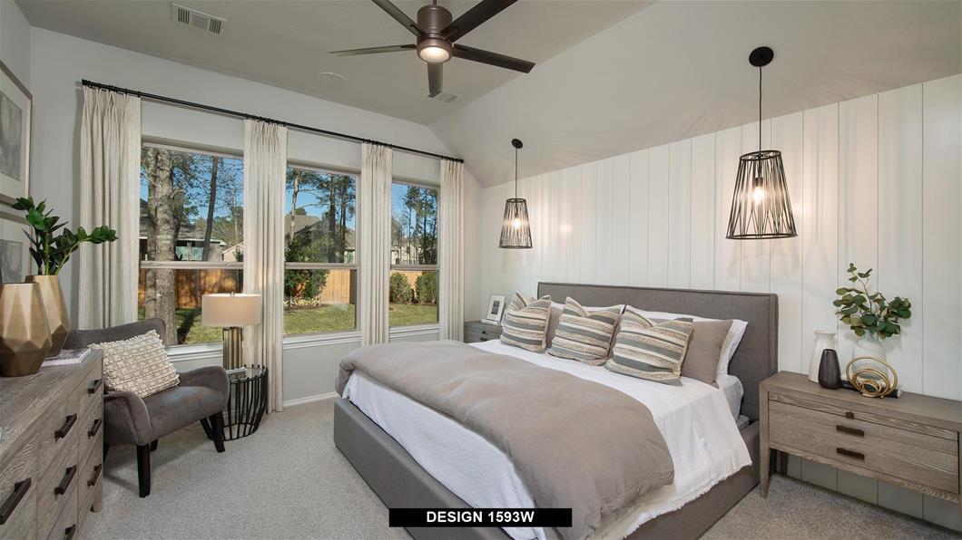 Model Home Design 1593W Interior