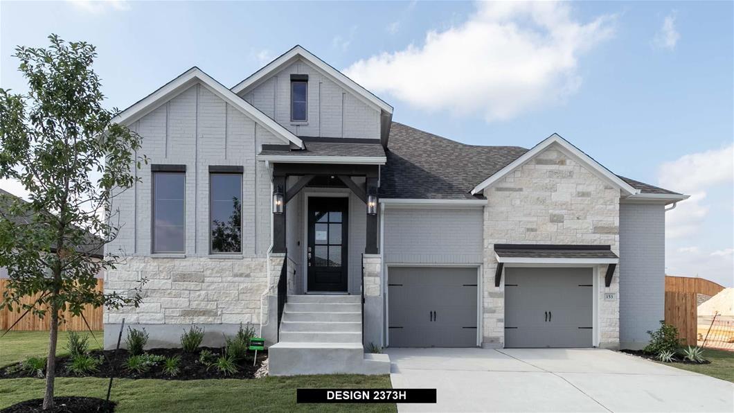 New Home Design, 2,373 sq. ft., 4 bed / 3.0 bath, 2-car garage
