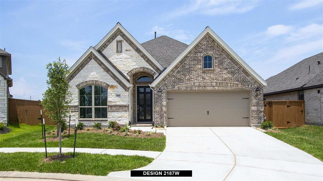 New Home Design, 2,187 sq. ft., 4 bed / 2.0 bath, 2-car garage