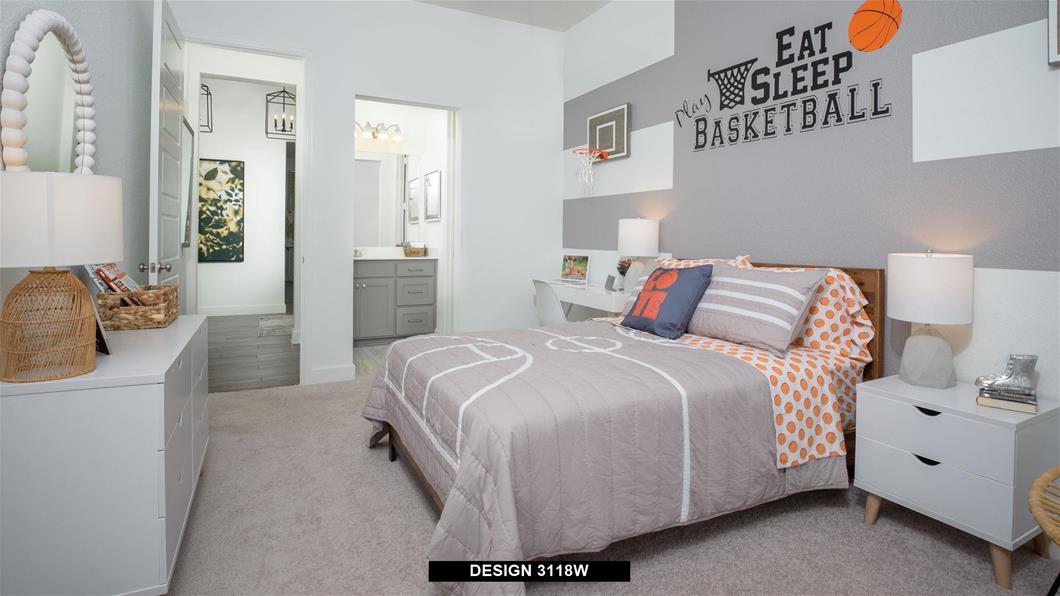 Model Home Design 3118W Interior